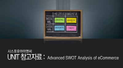 advanced swot analysis of e commerce E-commerce menu  commercial credit analysis 41  you'll be able to analyze the key functional areas of a business, including through a swot analysis.